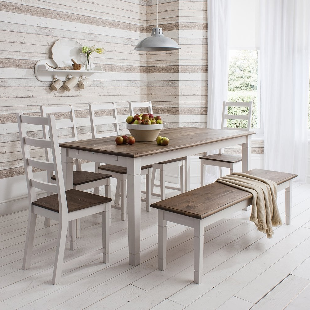 Recent Rustic Pine Small Dining Tables for Canterbury Dining Table