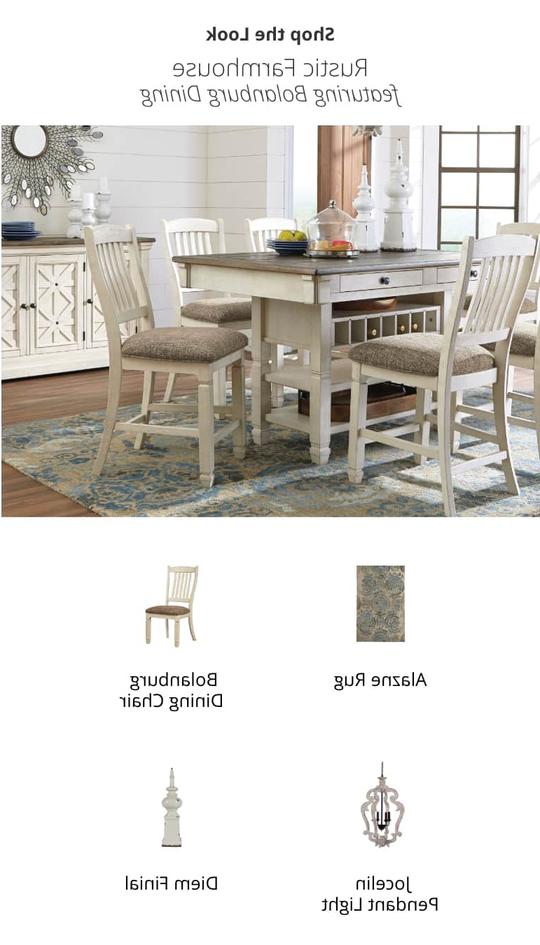 Rustic Country 8 Seating Casual Dining Tables Throughout Favorite Kitchen & Dining Room Furniture (View 7 of 25)
