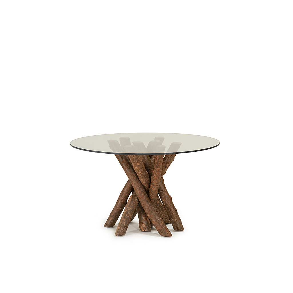 Rustic Mid-Century Modern 6-Seating Dining Tables In White And Natural Wood with regard to Newest Rustic Dining Table Base Only