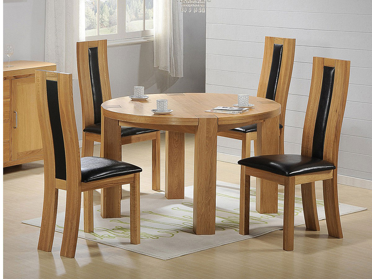 Rustic Pine Small Dining Tables for Famous Small Dining Table For Small Family