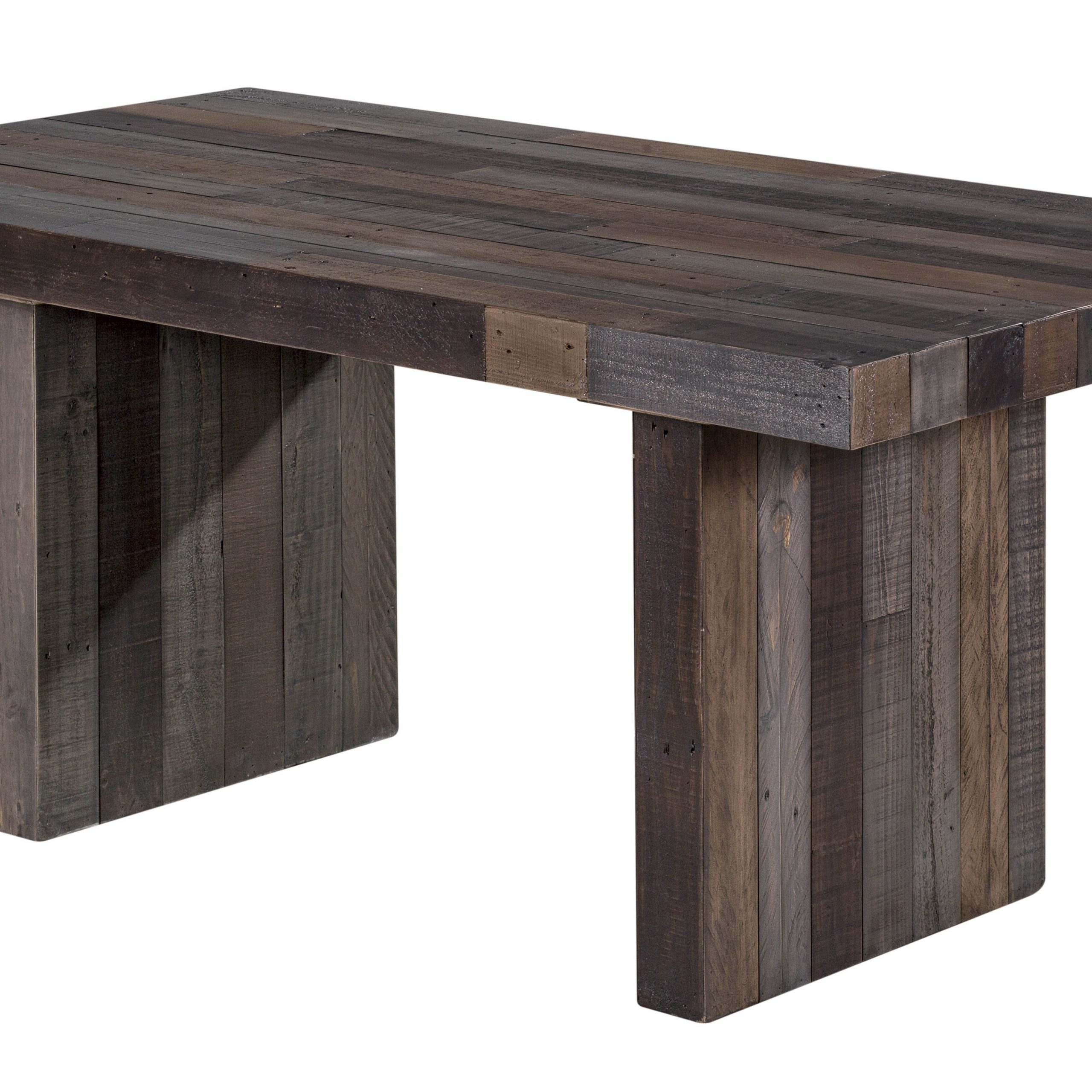 Rustic Pine Small Dining Tables within Current Moes Home Vintage Grey Small Dining Table