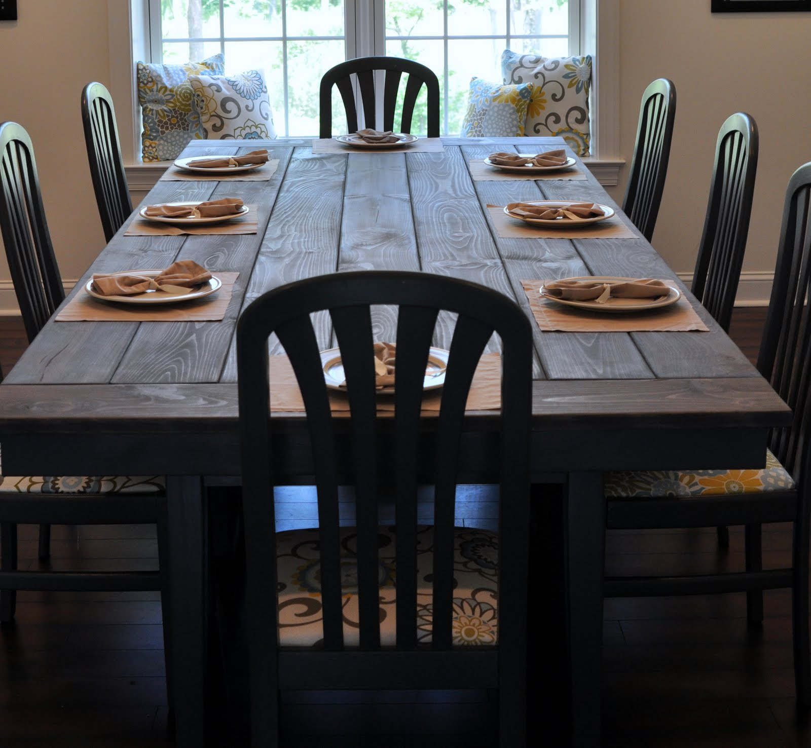 Rustic Pine Small Dining Tables within Famous Farmhouse Table Remix {How To Build A Farmhouse Table}