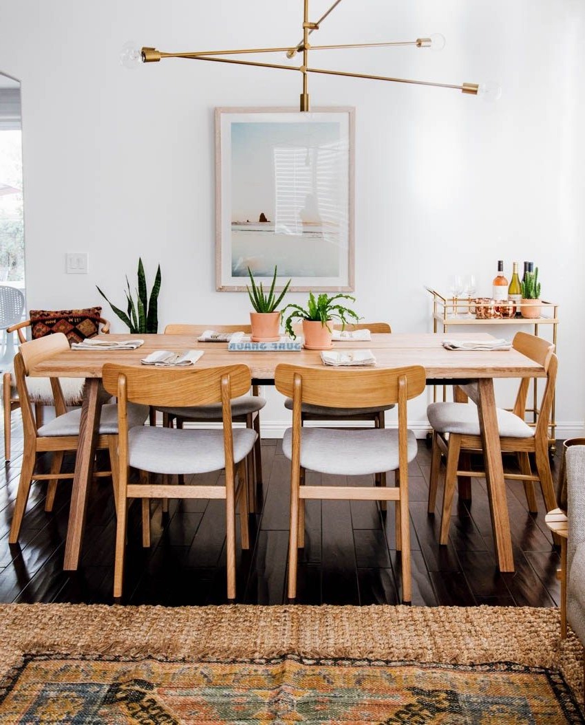 Scandinavian Dining Room Style (View 20 of 25)
