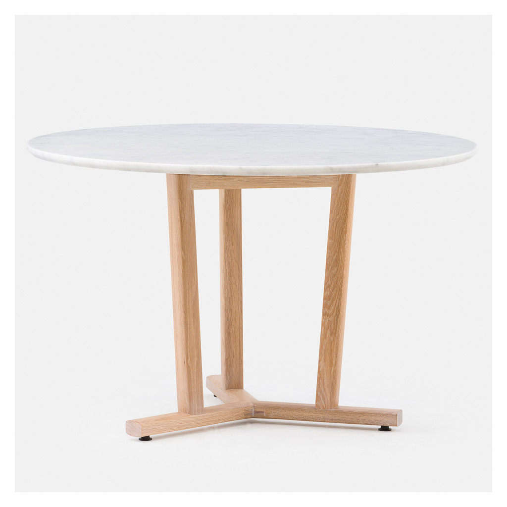 Shaker Dining Table Round White Oak – The Conran Shop Intended For Fashionable Eames Style Dining Tables With Wooden Legs (View 12 of 16)