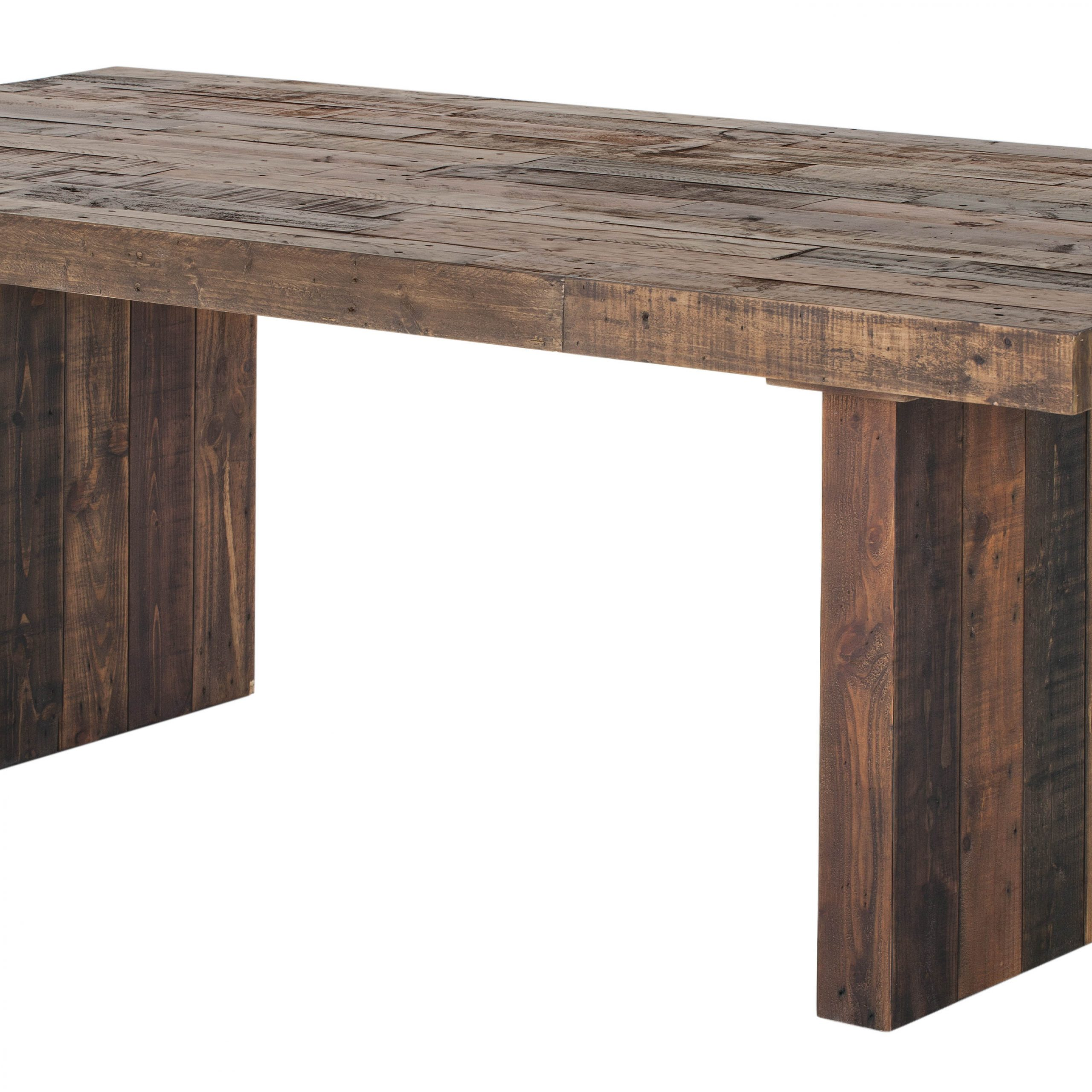 Small Dining Tables With Rustic Pine Ash Brown Finish Inside Latest Moes Home Vintage Light Brown Small Dining Table (View 21 of 25)
