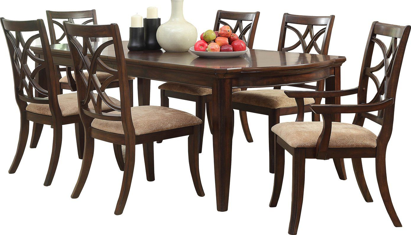 Small Dining Tables With Rustic Pine Ash Brown Finish Intended For Most Popular Kinsman Extendable Dining Table (View 19 of 25)
