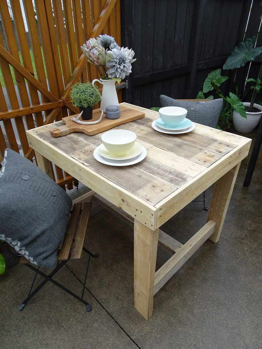 Small Rustic Look Dining Tables Intended For Popular This Salvaged Timber Dining Table Has A Unique, Rustic (View 15 of 25)