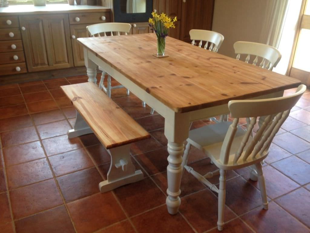 Small Rustic Look Dining Tables Pertaining To Popular Small Dining Room Sets Bench : Design Small Dining Room Sets (View 7 of 25)