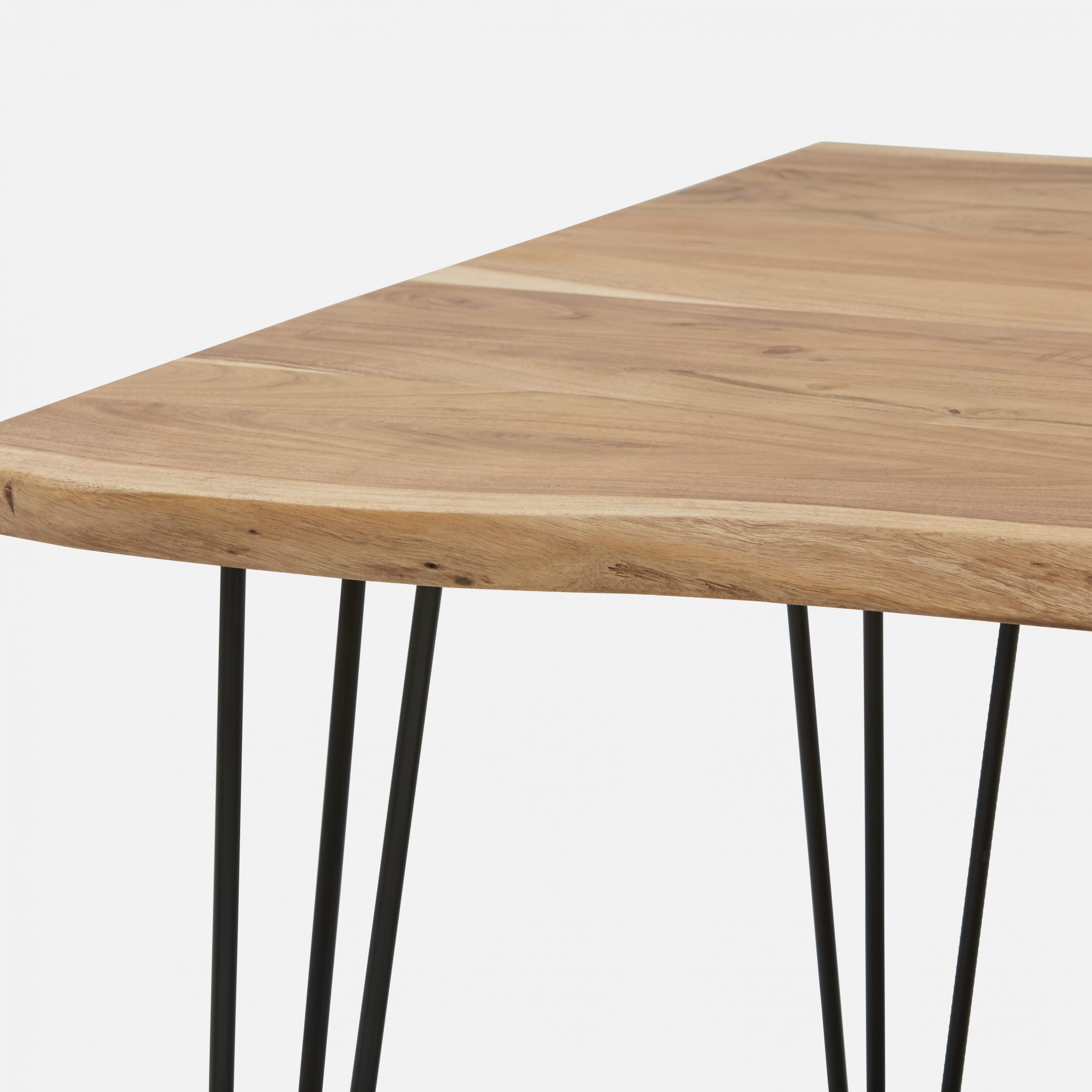 Solid Acacia Wood Dining Tables Throughout Preferred Reno Natural Solid Acacia Wood Dining Table 180Cm (View 4 of 25)