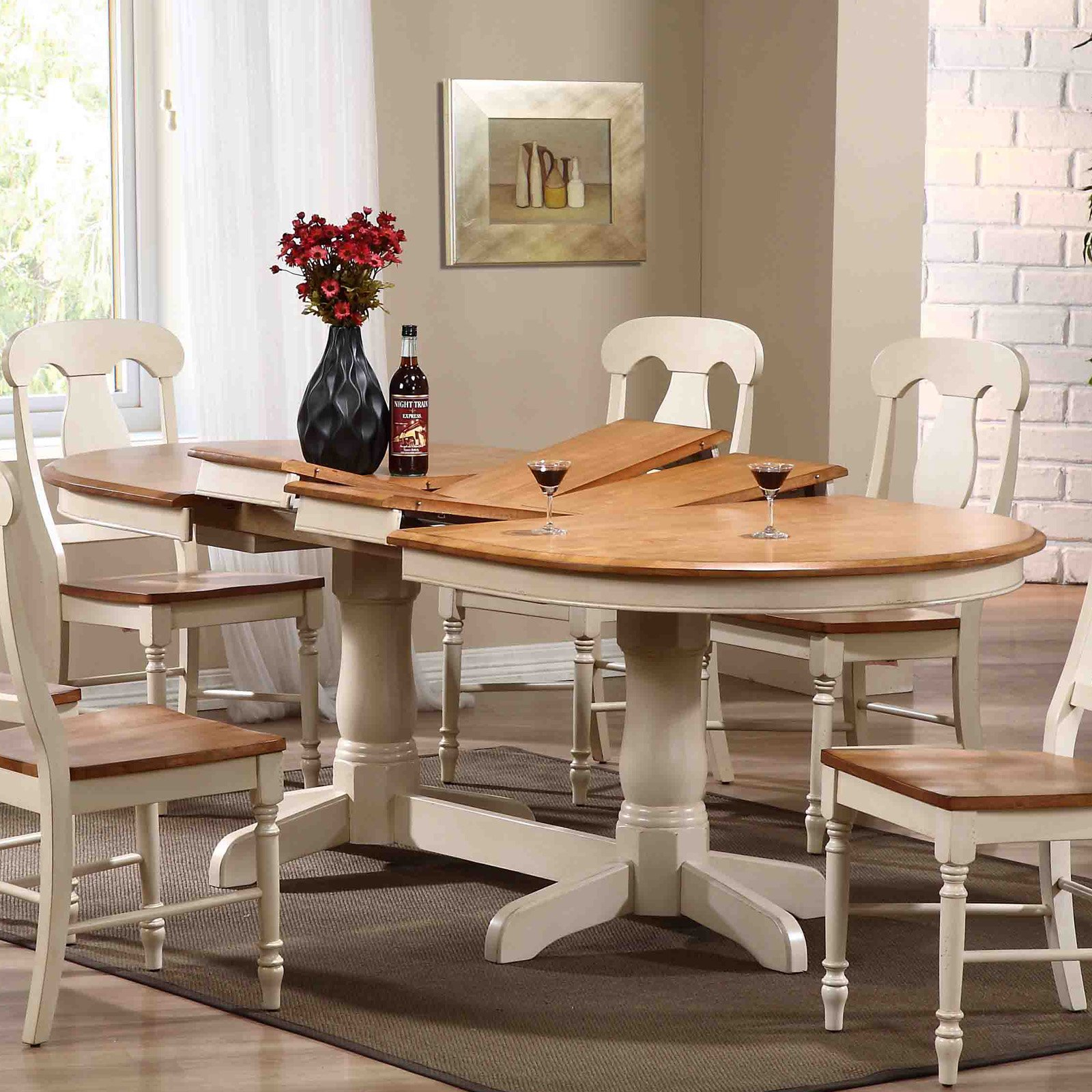 Stylish Small Farmhouse Dining Table Cheap Furniture For Intended For Most Current Small Rustic Look Dining Tables (View 21 of 25)