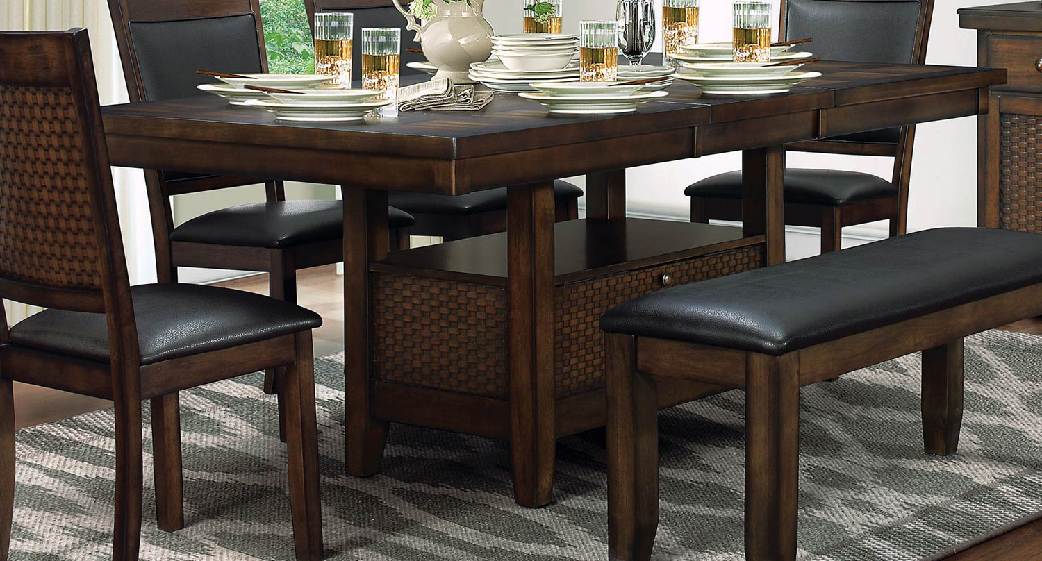 The Regarding Transitional Antique Walnut Drop Leaf Casual Dining Tables (View 25 of 25)