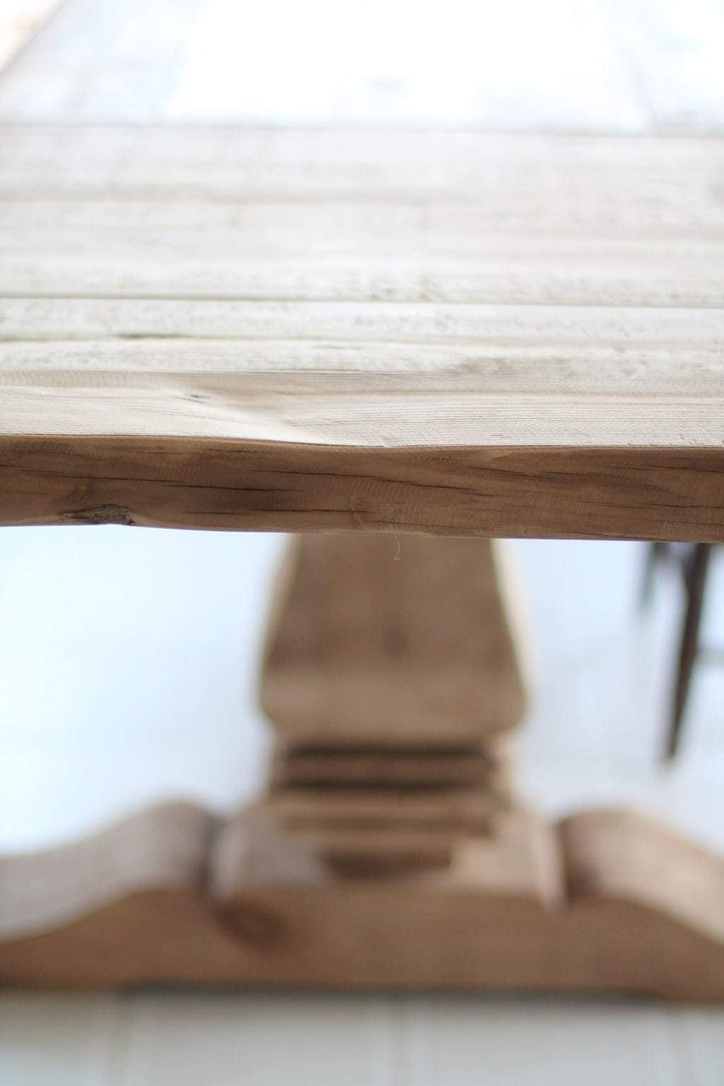 Thick White Marble Slab Dining Tables With Weathered Grey Finish Pertaining To Most Recent How To Protect A Restoration Hardware Dining Table (View 19 of 25)