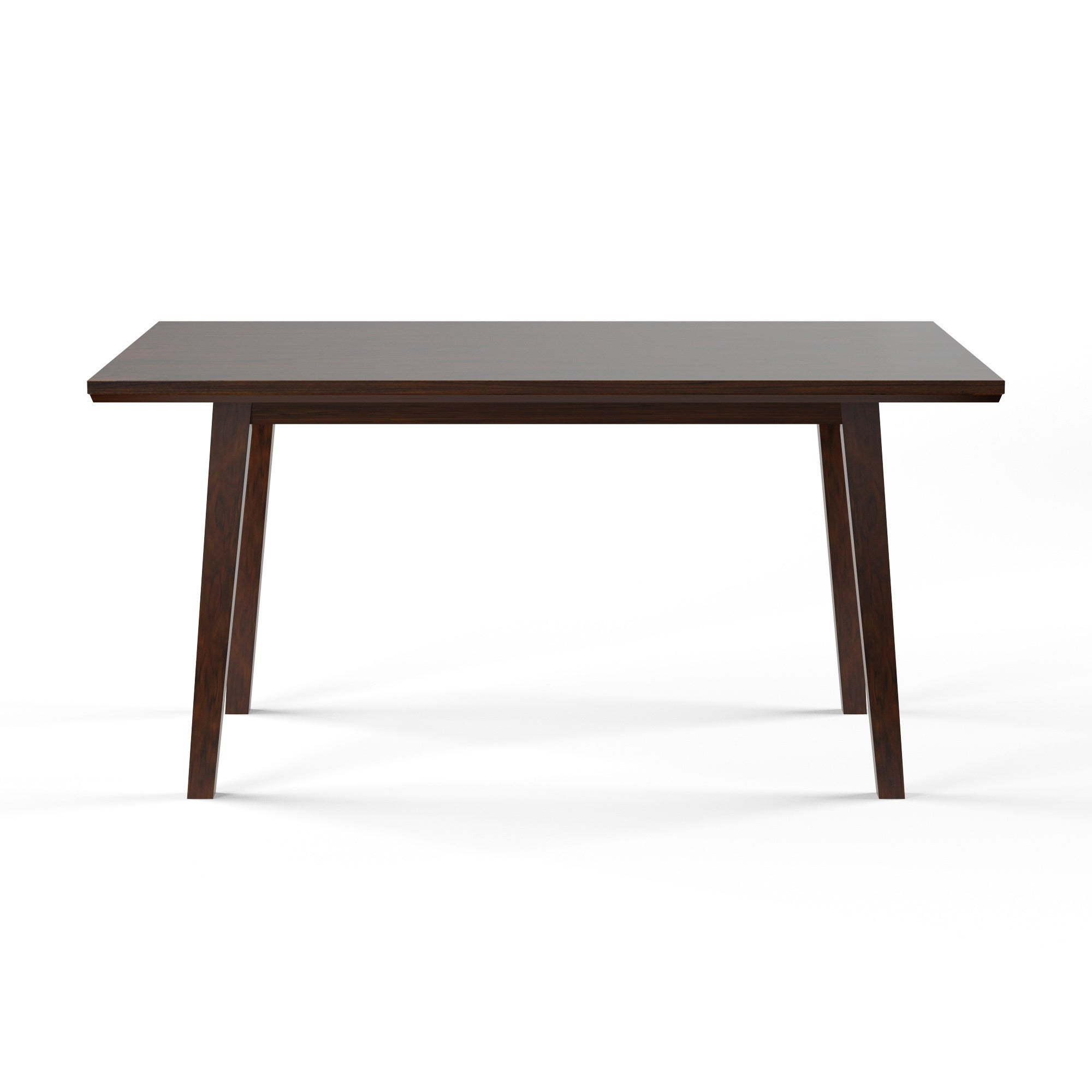Transitional 4 Seating Double Drop Leaf Casual Dining Tables Inside Fashionable Furniture Of America Yria Transitional Walnut 60 Inch Dining Table (View 19 of 25)