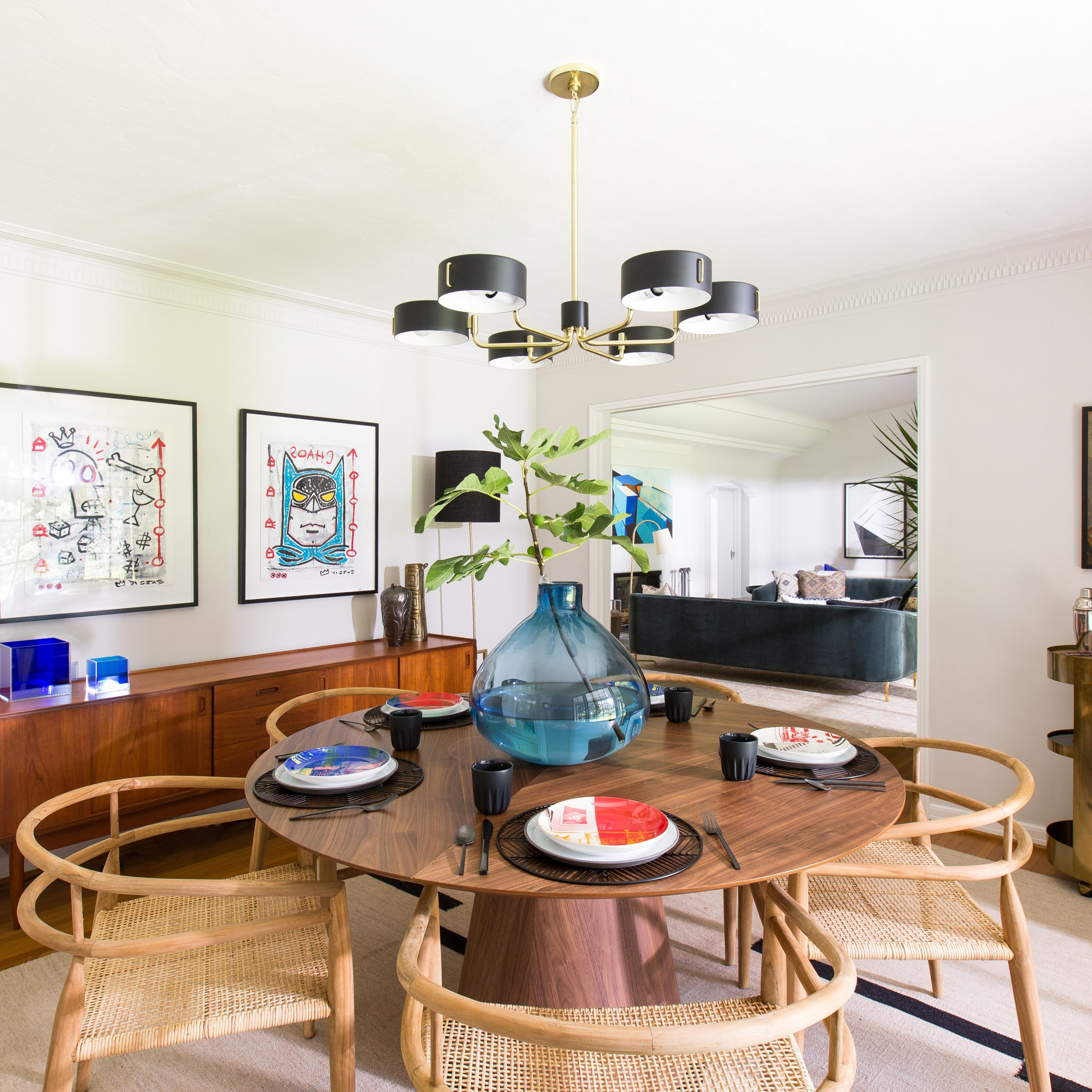 Transitional Antique Walnut Square Casual Dining Tables For Recent 8 Midcentury Modern Decor & Style Ideas: Tips For Interior (View 11 of 25)