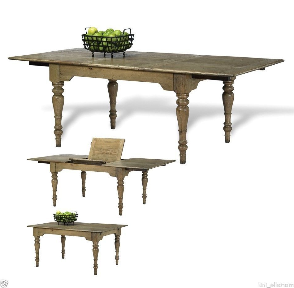 Featured Photo of Transitional Antique Walnut Square Casual Dining Tables