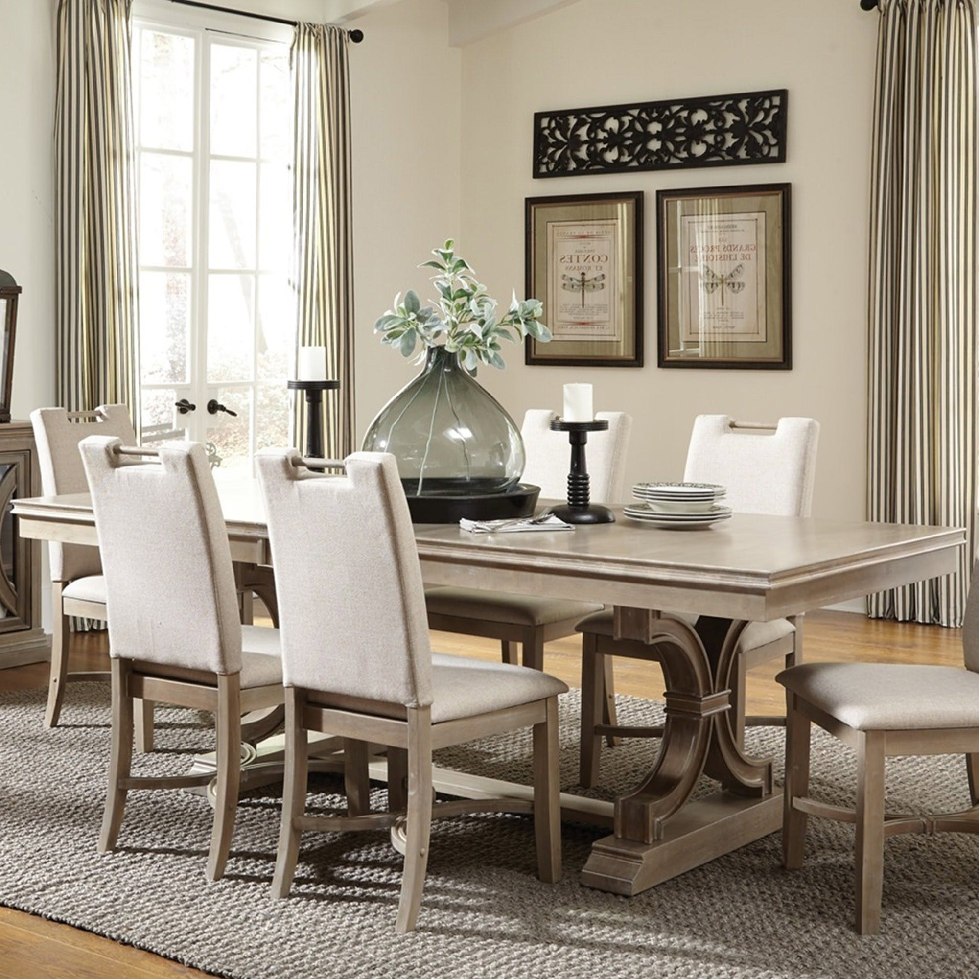 Transitional Rectangular Dining Tables Pertaining To Latest Sonoma Rectangular Dining Table – Bernie & Phyl's Furniture (View 16 of 21)