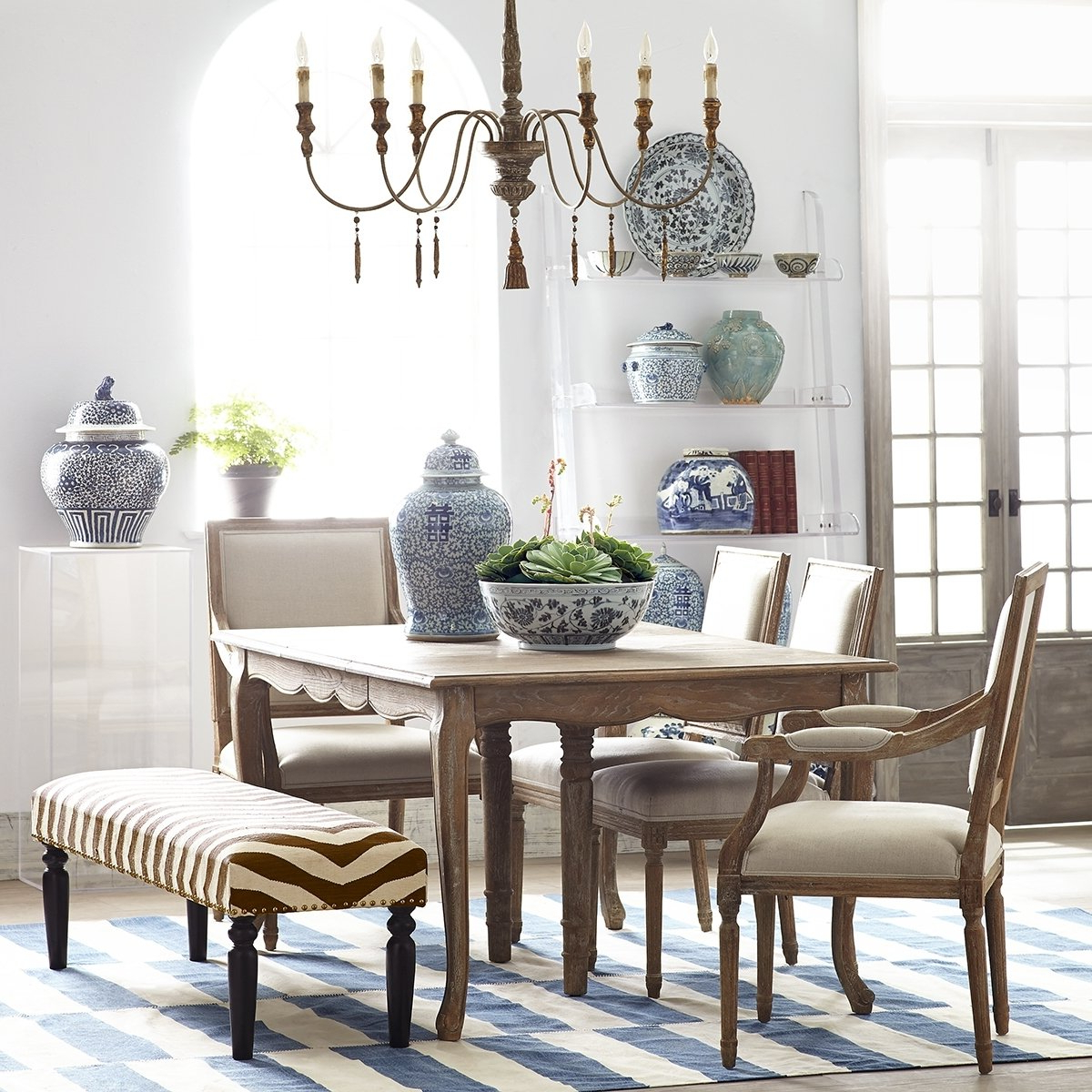 Trendy 50+ French Country Dining Table You'll Love In 2020 – Visual Inside Walnut And Antique White Finish Contemporary Country Dining Tables (View 4 of 25)