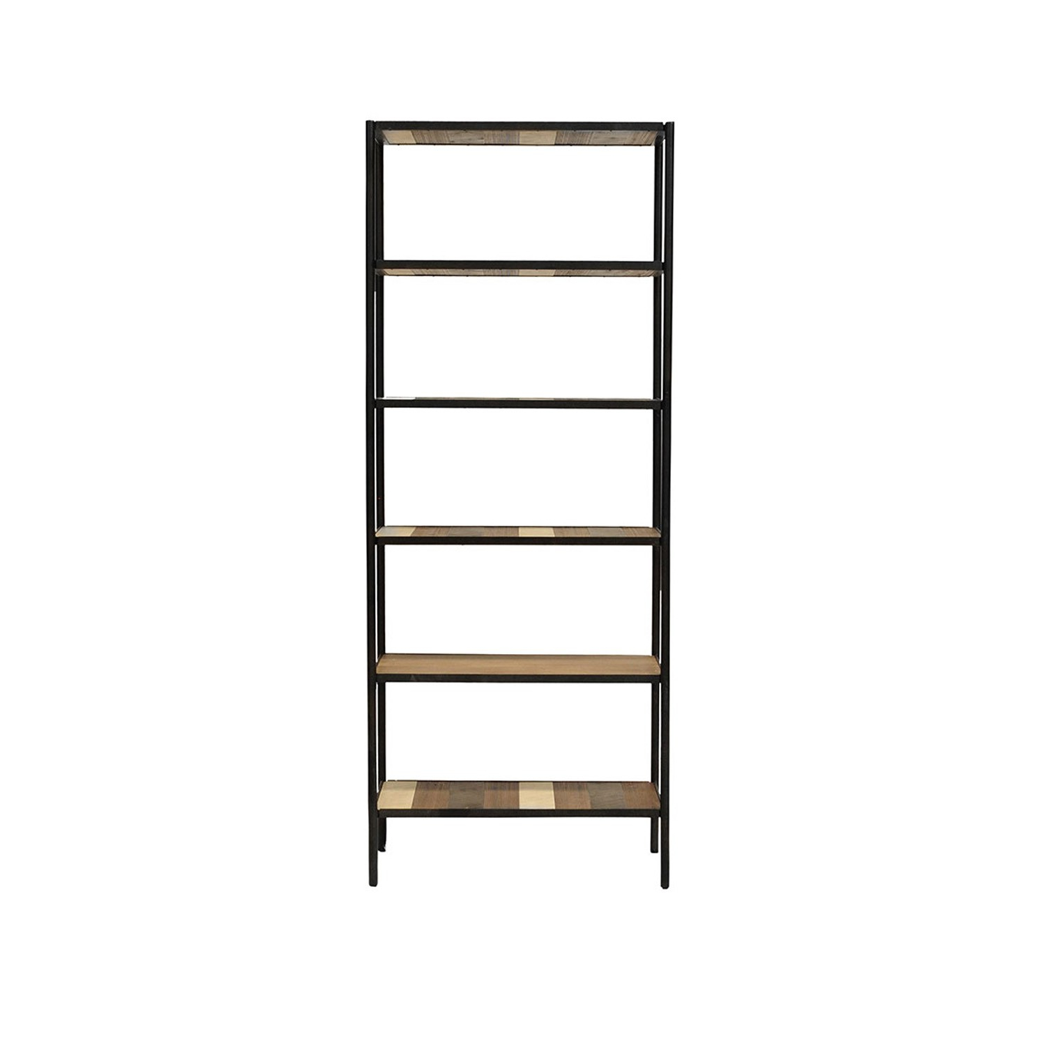 Trendy Acacia Wood Medley Medium Dining Tables With Metal Base In Medley Bookshelf  Small (View 8 of 26)