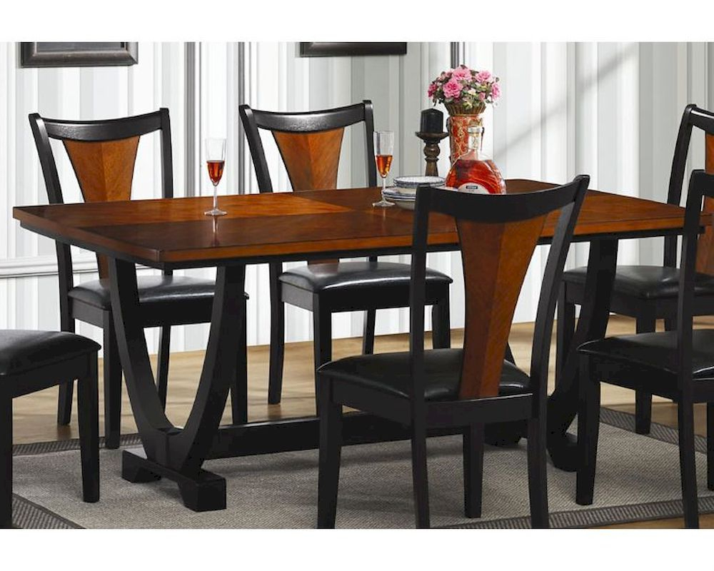 Trendy Coaster Boyer Rectangular Contemporary Dining Table Co 102090 Intended For Contemporary Rectangular Dining Tables (View 17 of 25)
