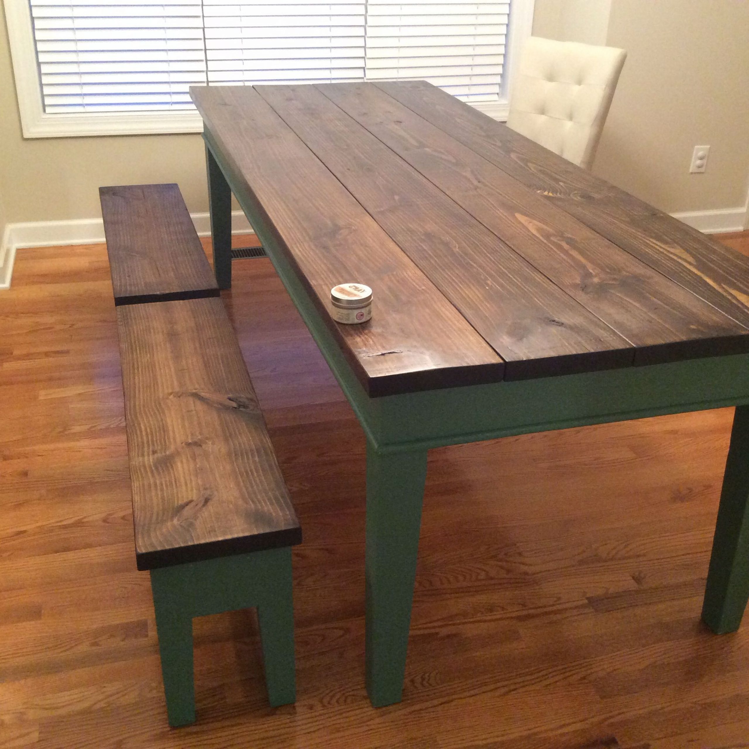 Trendy Finished Farm Table (View 5 of 25)