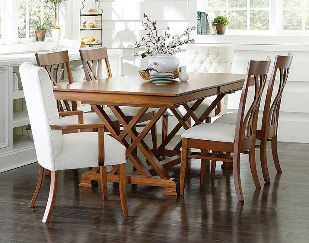 Trendy Top Amish Dining Room Sets (Tables, Chairs, Furniture, Etc (View 20 of 25)