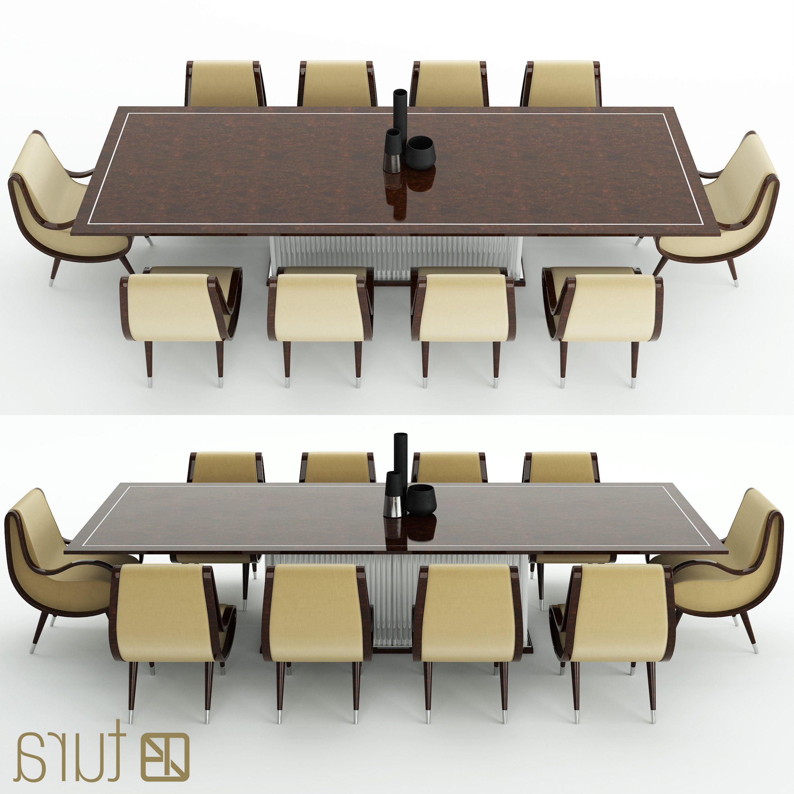 Tura Eclipse Dining Table (View 19 of 25)