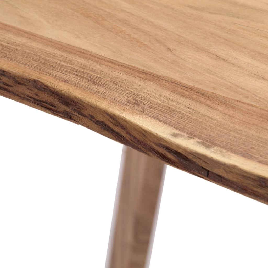 Vidaxl Dining Table 180X88X76 Cm Solid Acacia Wood Pertaining To Well Liked Unique Acacia Wood Dining Tables (View 22 of 25)