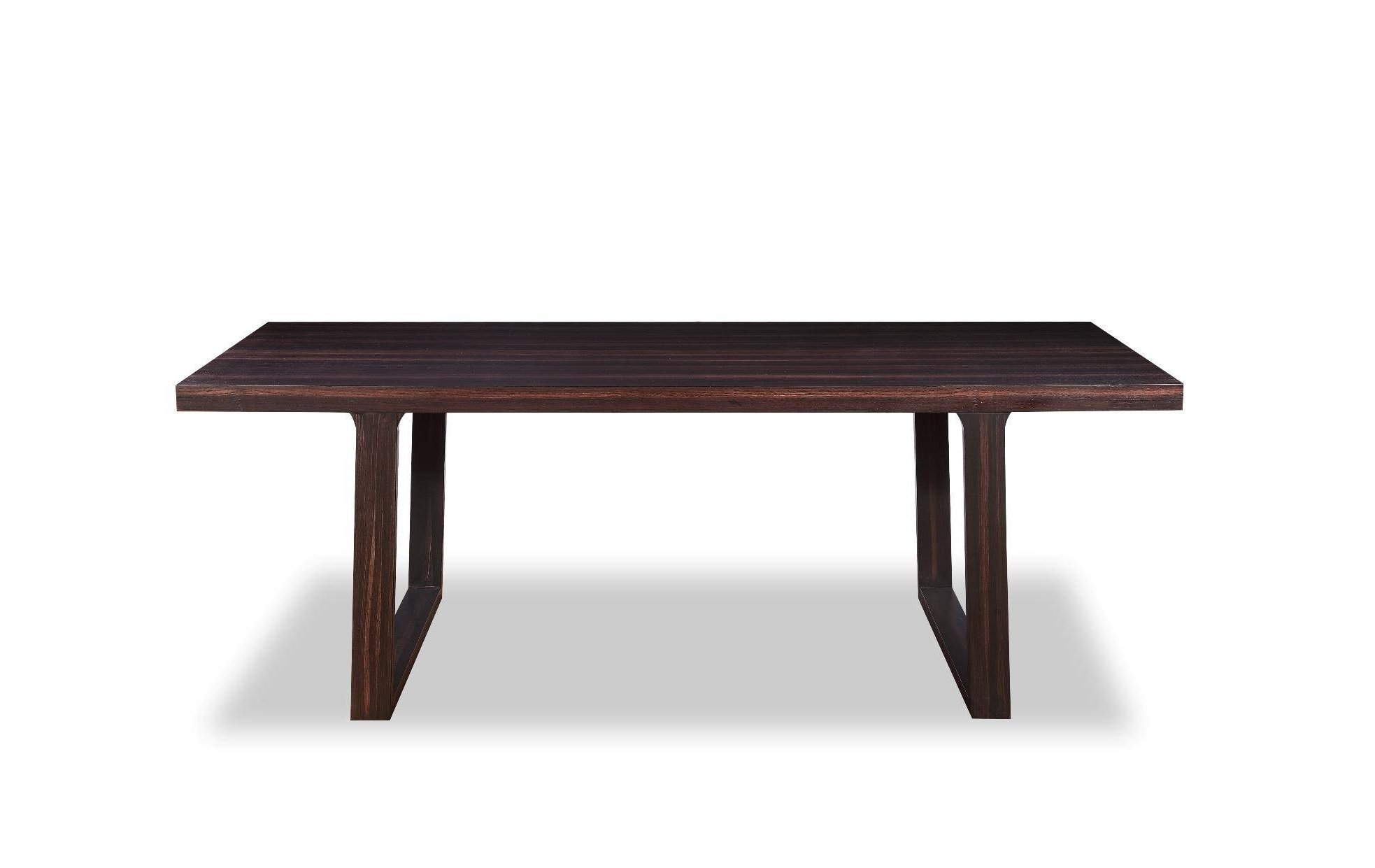 Vig A&x Caligari Oak Veneer Rectangular Dining Table Throughout Most Current Contemporary Rectangular Dining Tables (View 23 of 25)