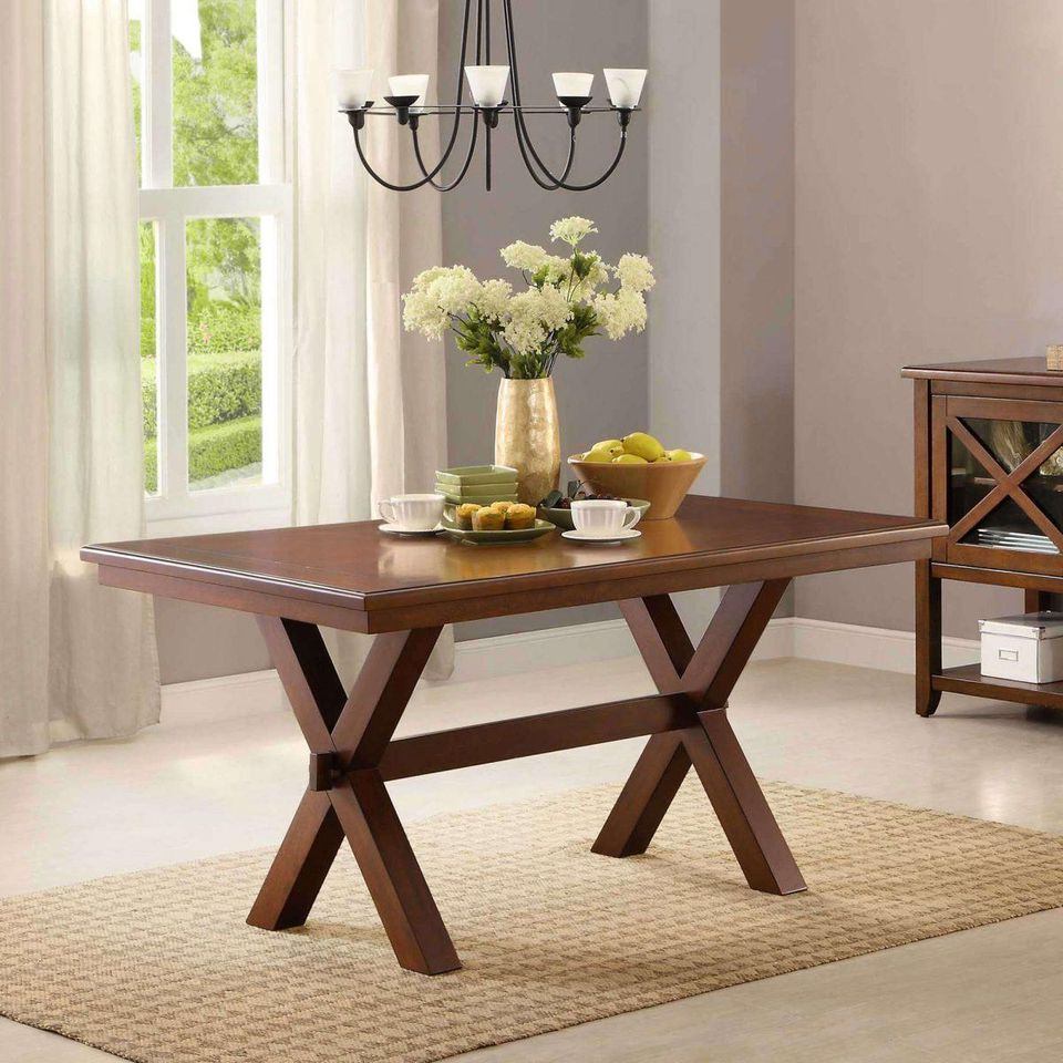 Walmart Black Friday 2019: Best Deals On Dining Room Furniture Intended For Newest Distressed Grey Finish Wood Classic Design Dining Tables (View 13 of 25)