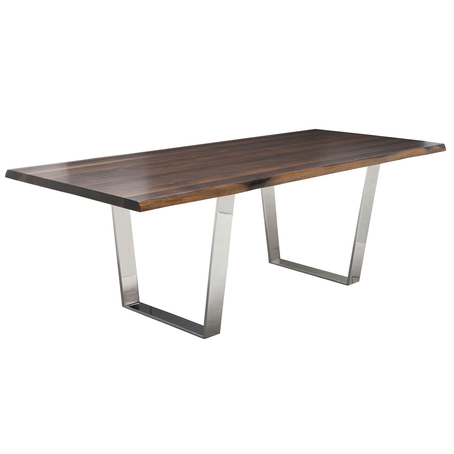 Well Known Dining Tables In Seared Oak With Regard To Versailles Dining Table – Seared Oak / Steel (View 23 of 25)