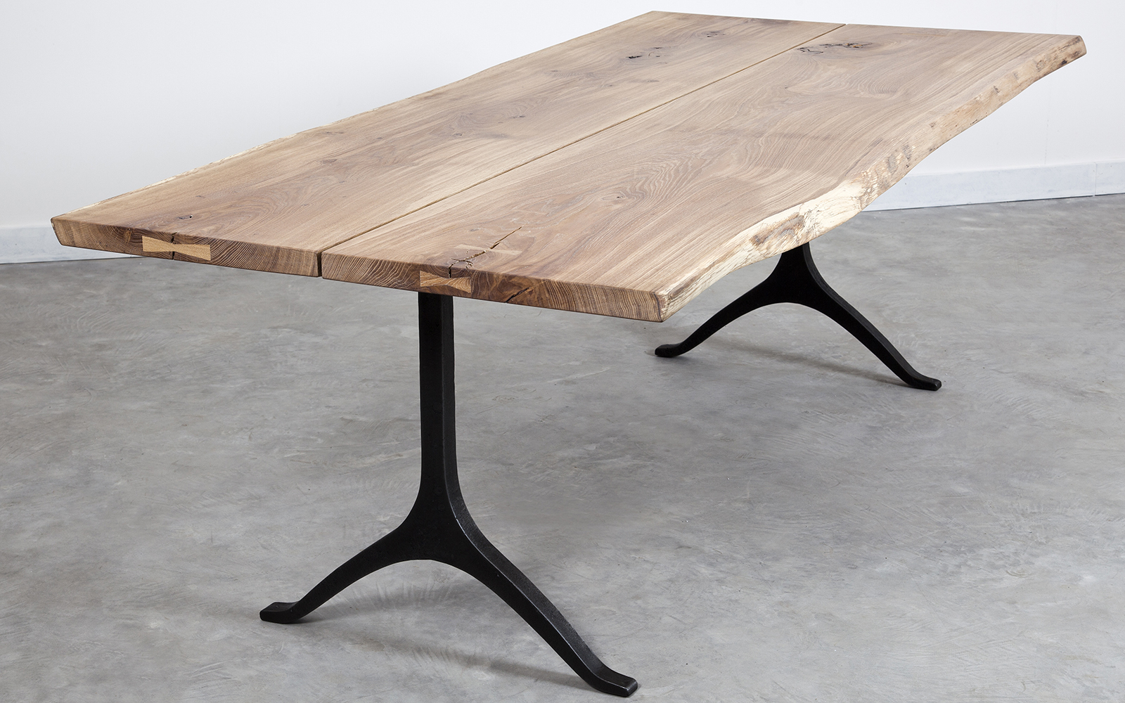 Well Known Dining Tables In Smoked/seared Oak Throughout Sq Roots (View 10 of 25)