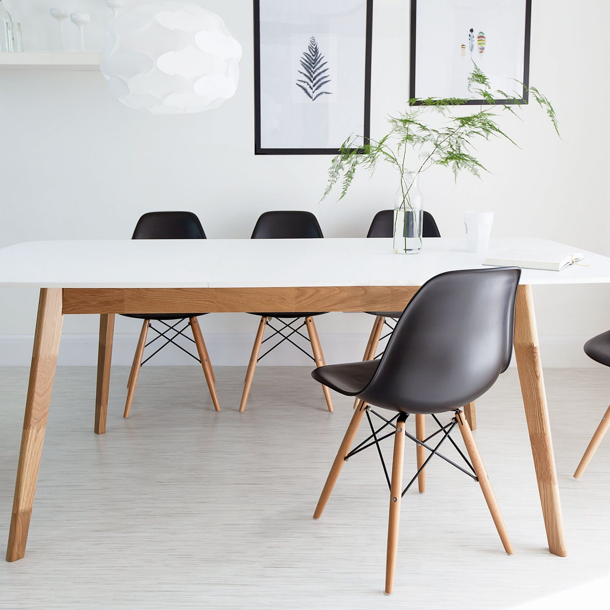Well Known Elegant Eames Style Dining Table – Creative Design Ideas Intended For Eames Style Dining Tables With Wooden Legs (View 13 of 16)