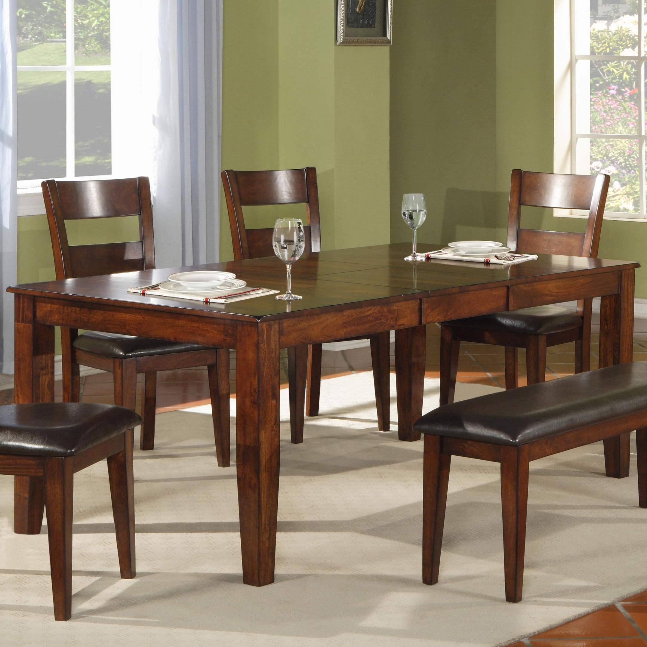 Well Known Iron Dining Tables With Mango Wood Regarding Holland House 1279 Modern Solid Mango Wood Dining Table (View 22 of 25)