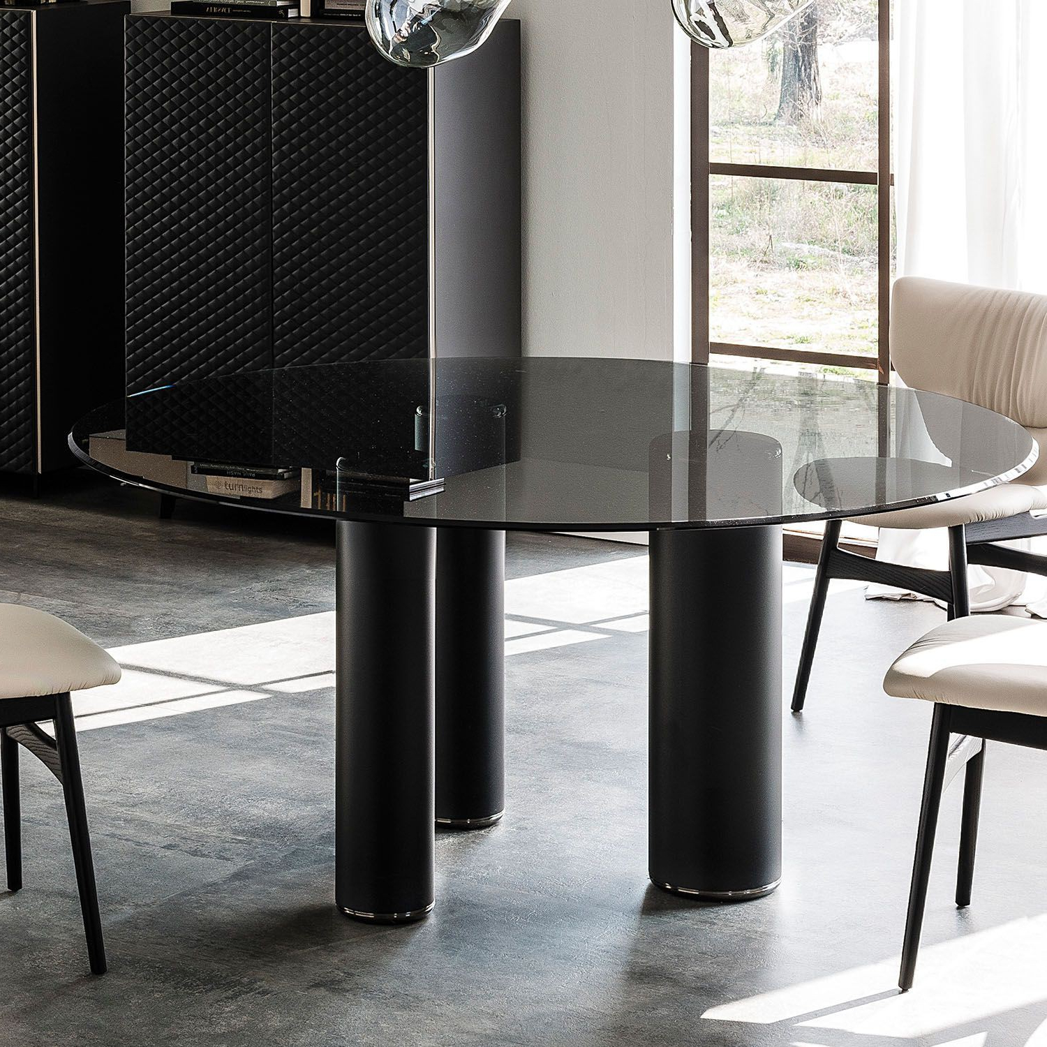 Well Known Neo Round Dining Tables With Roll Round Dining Table, Cattelan Italia – Neo Furniture (View 15 of 25)