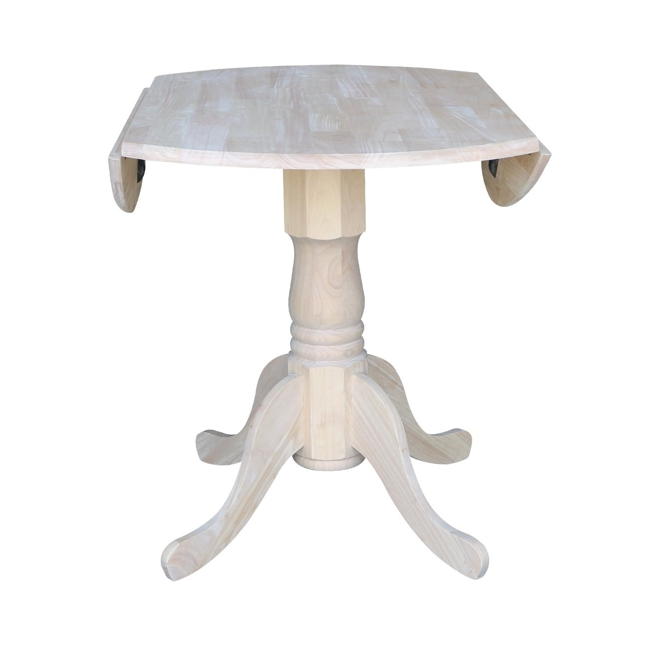 Well Known Transitional Drop Leaf Casual Dining Tables Intended For Amazon – Transitional Casual Round 36 Inch Dual Drop (View 9 of 25)