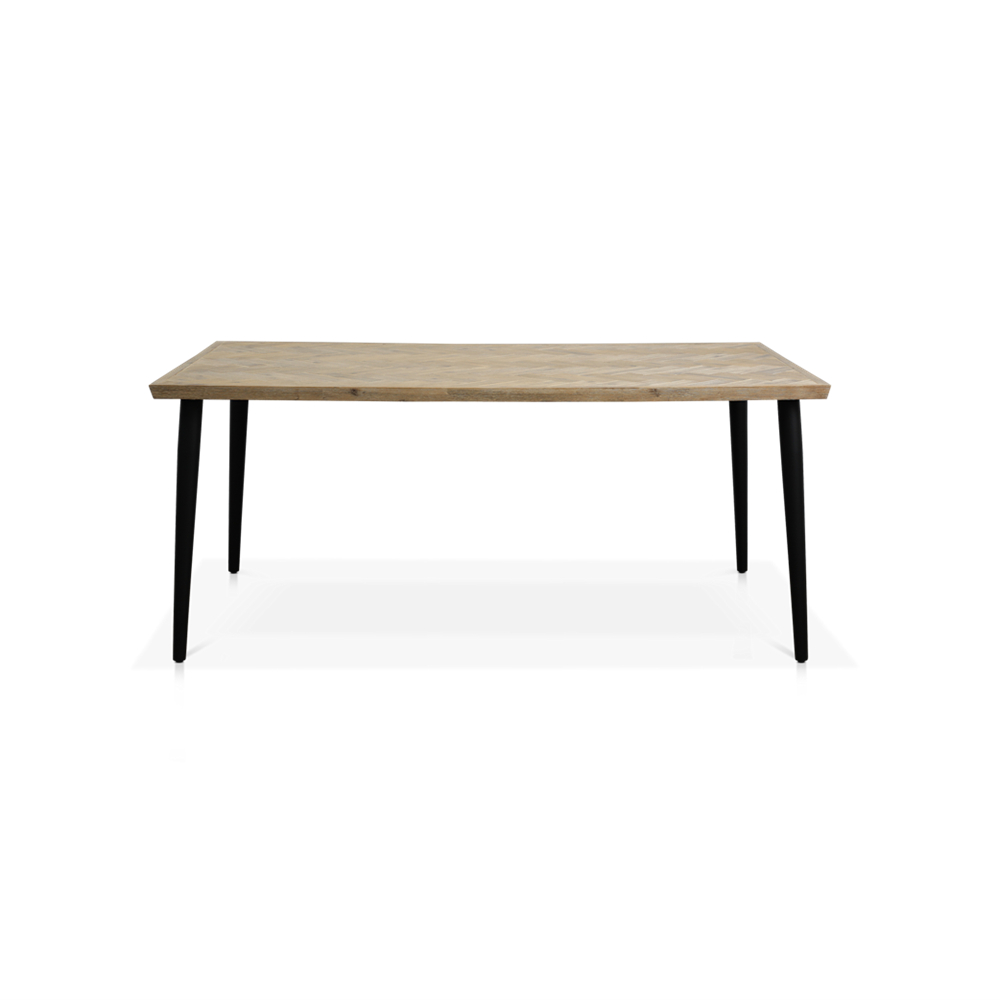 Well Liked Acacia Dining Tables With Black Legs Inside Napili 1800L Dining Table (View 15 of 25)