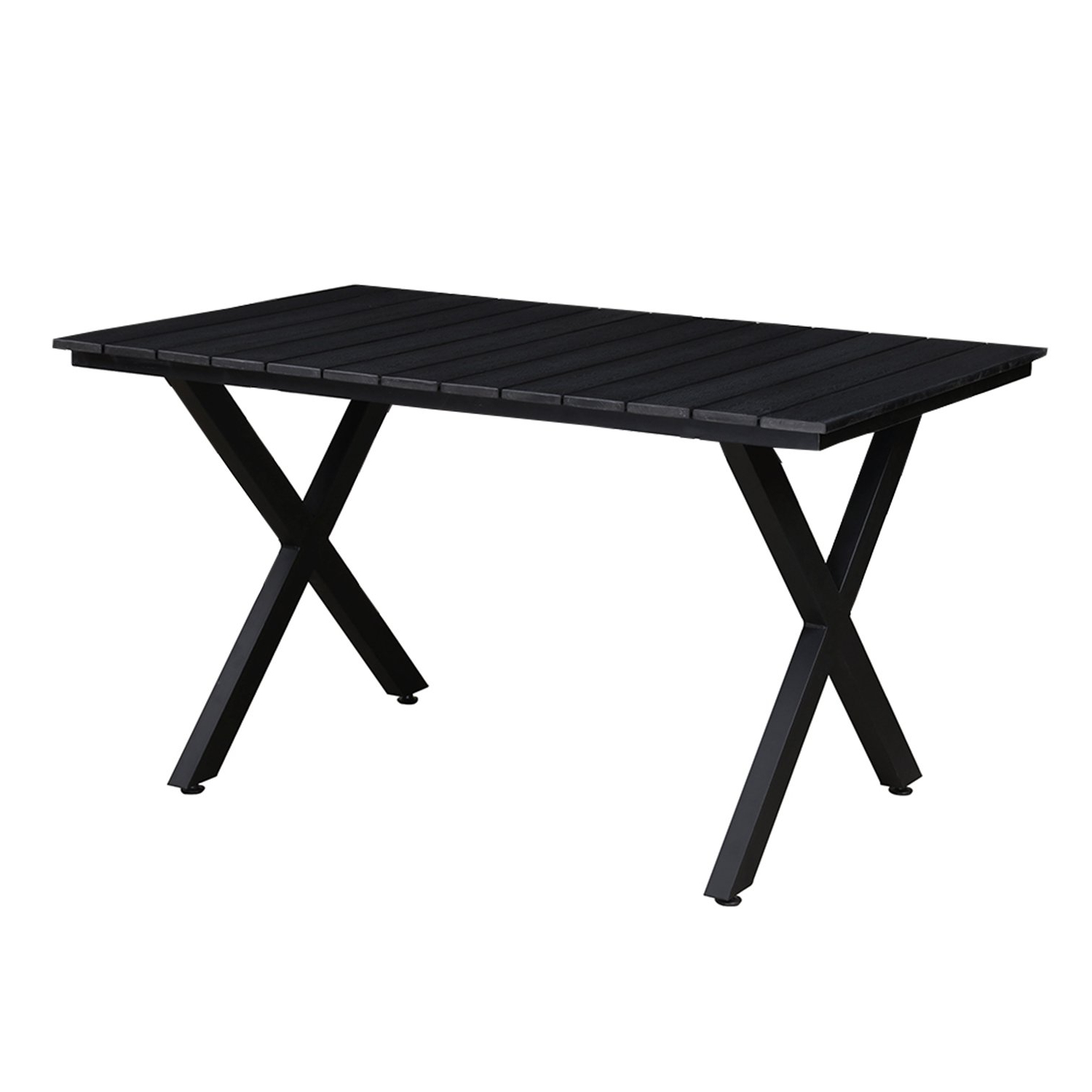 Well Liked Contemporary Rectangular Dining Tables Inside Amazon : Oakland Living Az902 Table Bk Modern Outdoor (View 23 of 25)