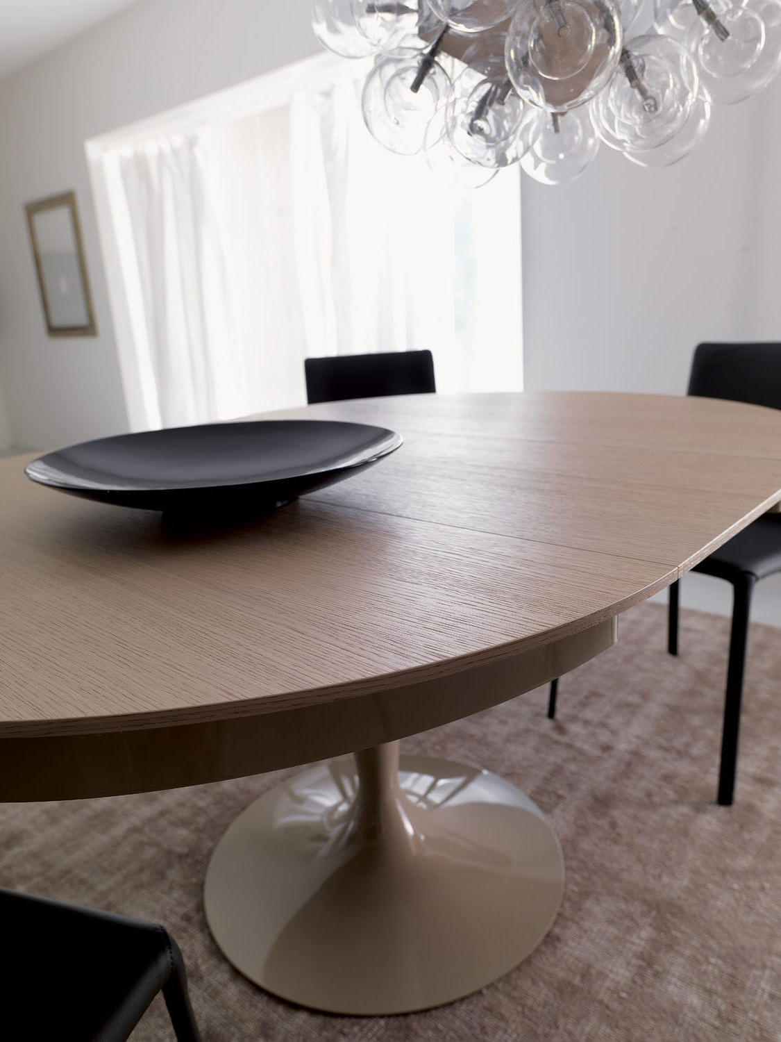 Well Liked Eclipse Dining Tables Regarding Contemporary Dining Table / Wooden / Metal / Round – Eclipse (View 21 of 25)