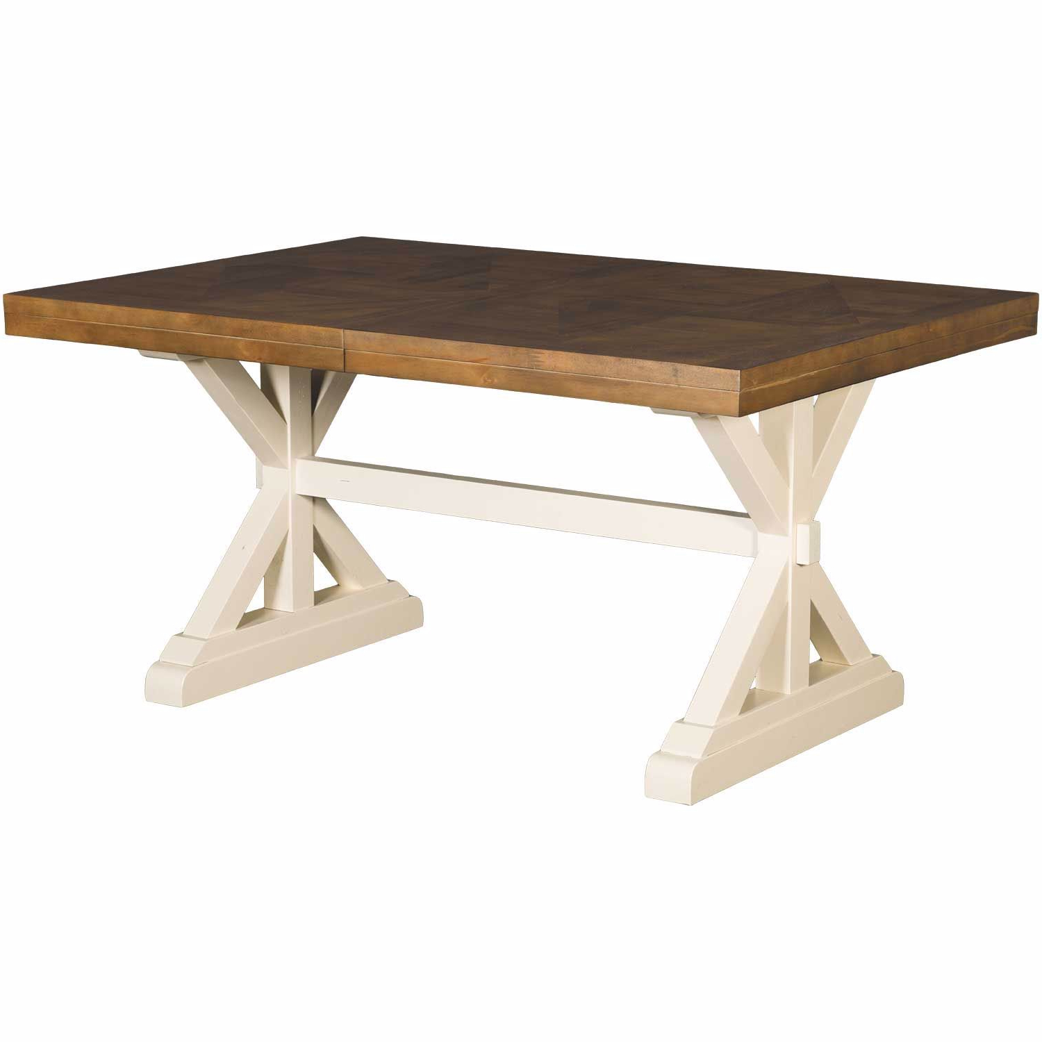 Well Liked Park Creek Rectangular Dining Table Pertaining To Rectangular Dining Tables (View 17 of 25)