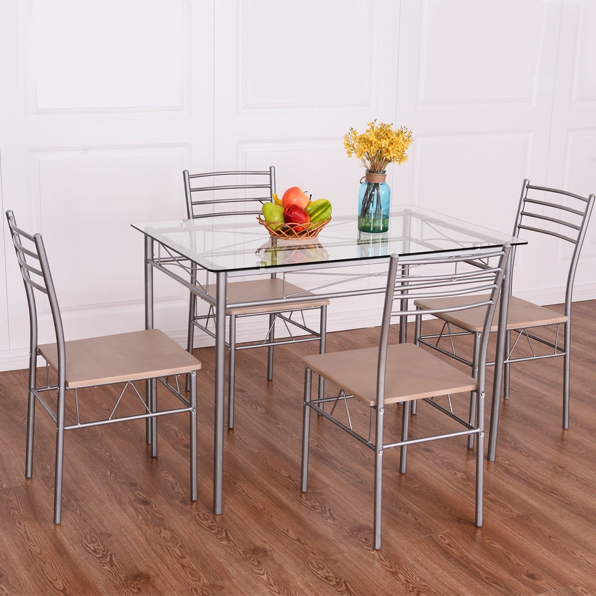 Well Liked Steel And Glass Rectangle Dining Tables In Cheap Rectangle Glass Dining Table Set, Find Rectangle Glass (View 22 of 25)