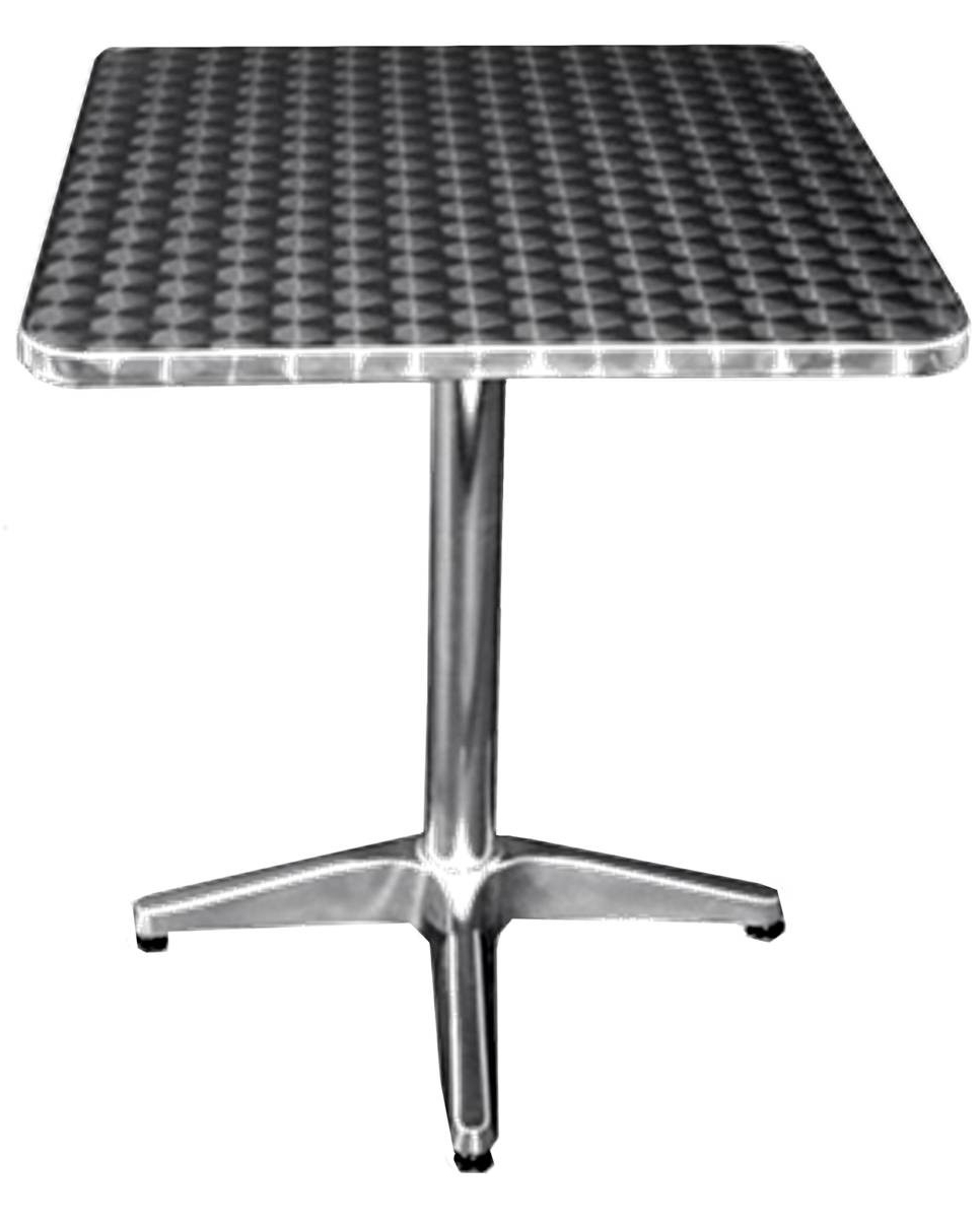 "Widely Used All About Furniture Oat3232 Outdoor Stainless Patio Dining Table 32"" X 32"" Square Throughout Patio Square Bar Dining Tables (View 17 of 25)"