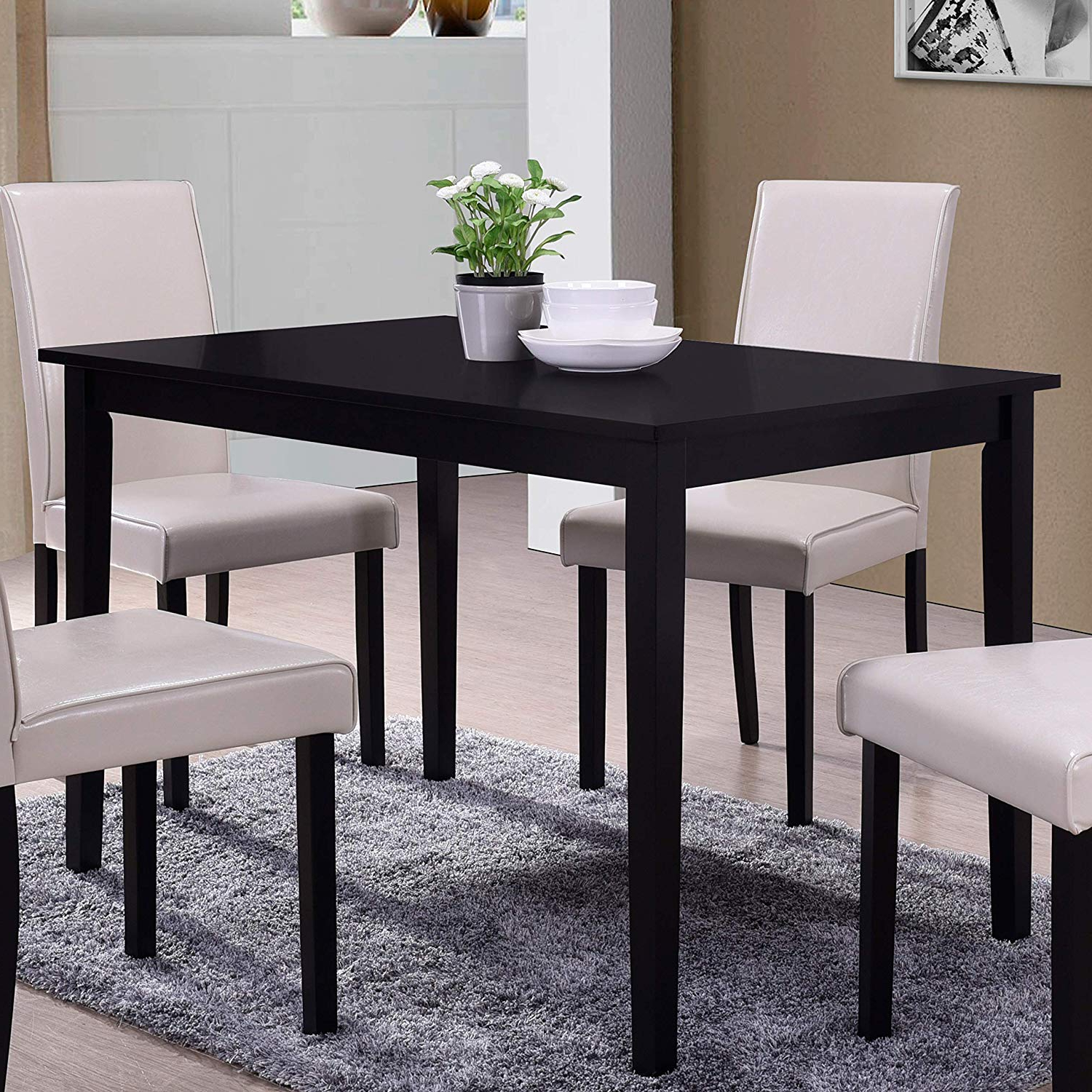 Widely Used Amazon – Best Master Furniture Melissa Transitional Regarding Transitional Rectangular Dining Tables (View 14 of 21)