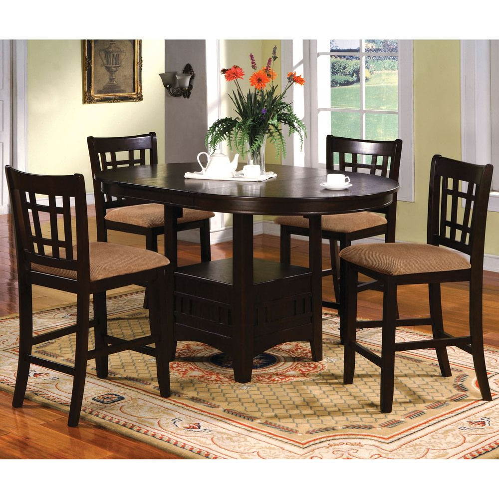 Widely Used Cappuccino Finish Wood Classic Casual Dining Tables With Online Shopping – Bedding, Furniture, Electronics, Jewelry (View 24 of 25)