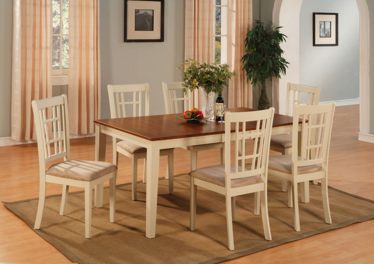 Widely Used Kitchen Dining Room Tables And Chairs Sets In Rustic Country 8 Seating Casual Dining Tables (View 22 of 25)