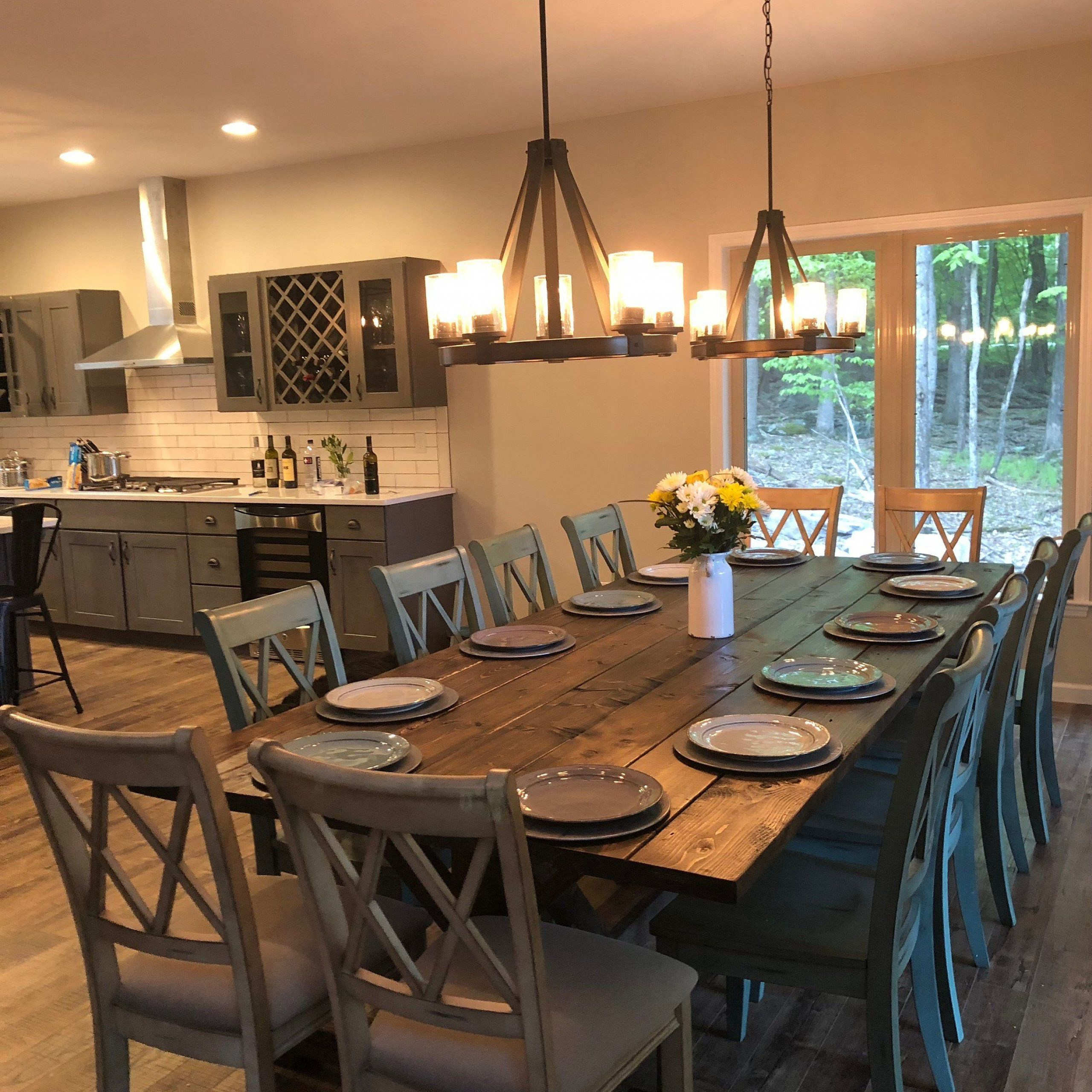 Widely Used Large Rustic Look Dining Tables Intended For Large Farmhouse Table, Rustic Farm Table, Farmhouse Dining (View 8 of 25)