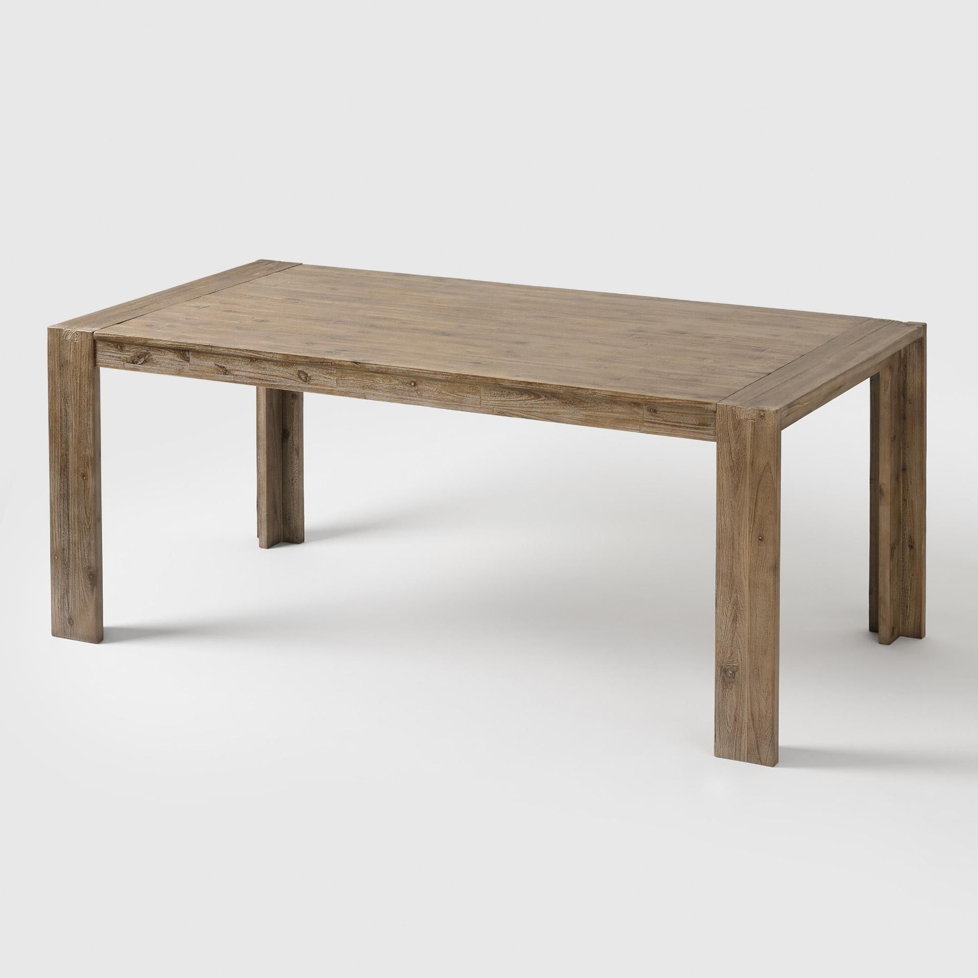 Widely Used Medium Dining Tables Pertaining To Natural Wood Finn Dining Table – Mediumworld Market In (View 9 of 25)
