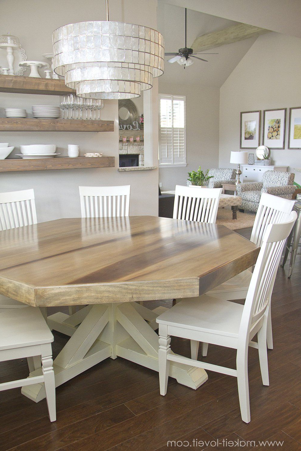 Featured Photo of Rustic Country 8 Seating Casual Dining Tables