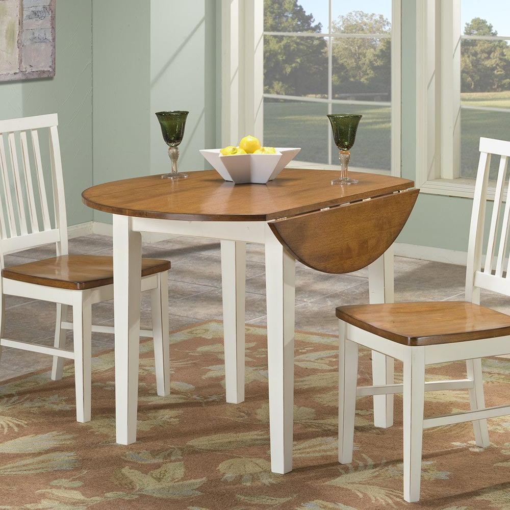 """Widely Used Transitional Drop Leaf Casual Dining Tables Inside Arlington 42"""" Drop Leaf Table – Intercon Furniture (View 16 of 25)"""
