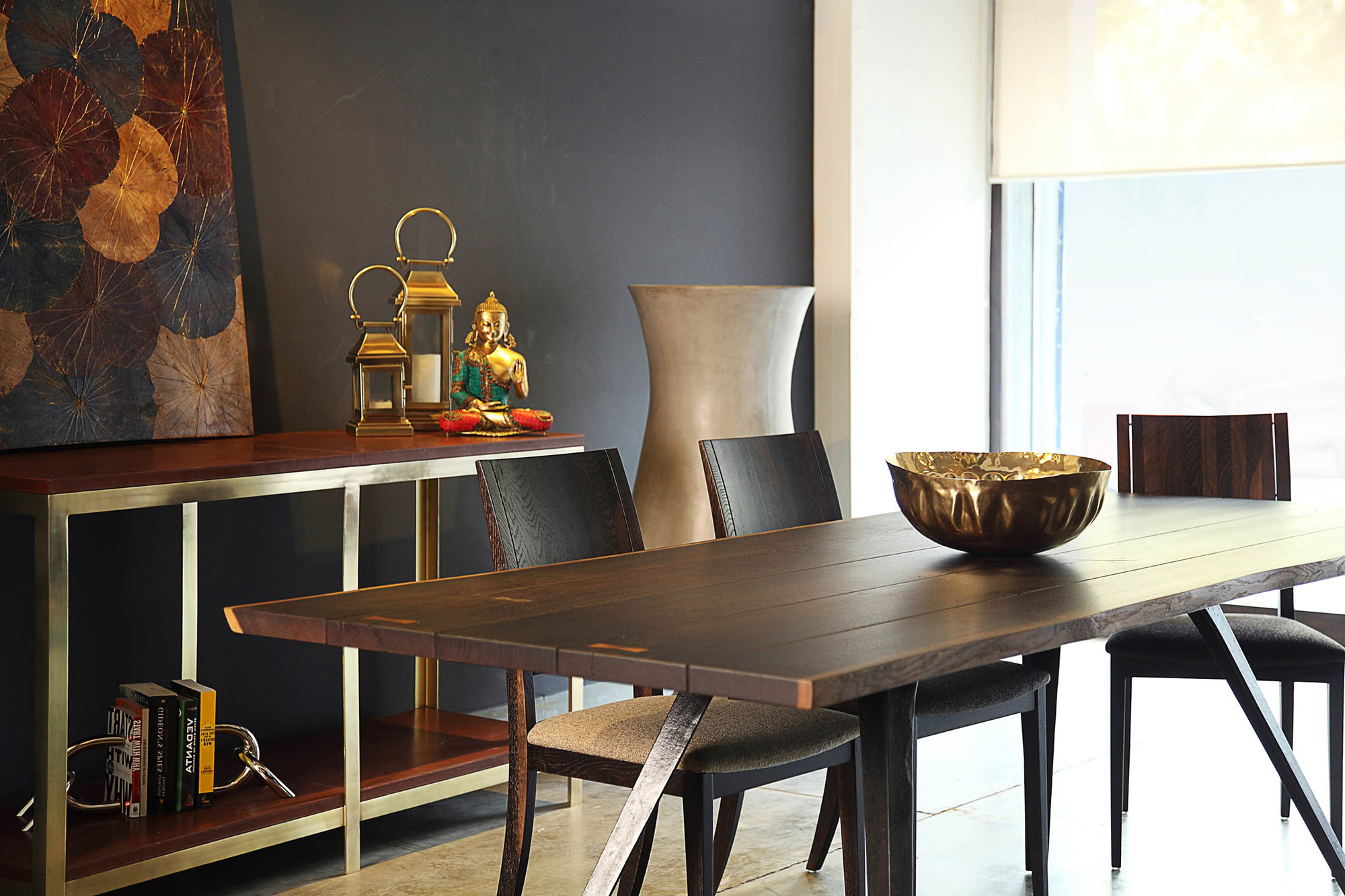 Widely Used Vega Dining Table Throughout Dining Tables In Seared Oak (View 11 of 25)