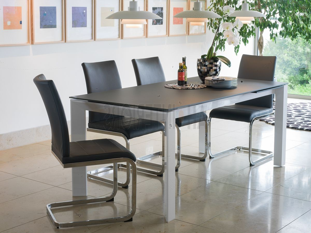 Widely Used Vida Living Mobo Grey Extending Dining Table Set 140 – 190M Pertaining To Medium Dining Tables (View 24 of 25)